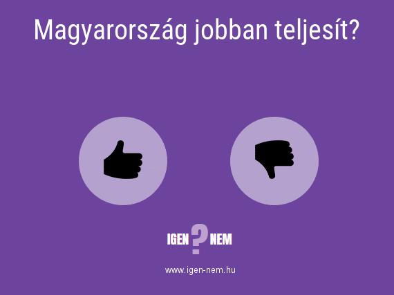 Magyarország jobban teljesít? IGEN? NEM? | igen-nem.hu